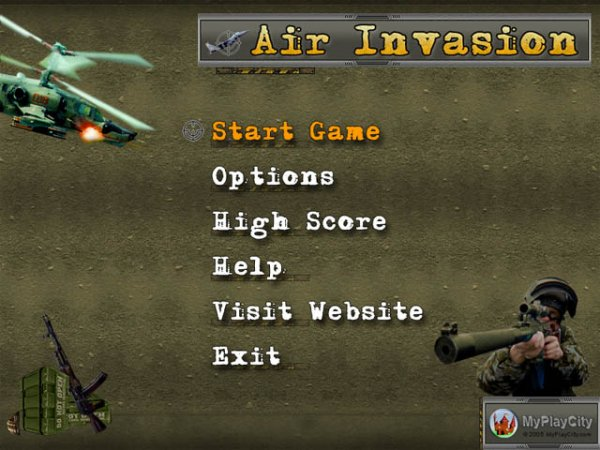 Game Air Invasion 3