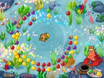 Game Little Mermaid Bubble Blast 1