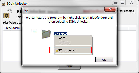 Program IObit Unlocker 4