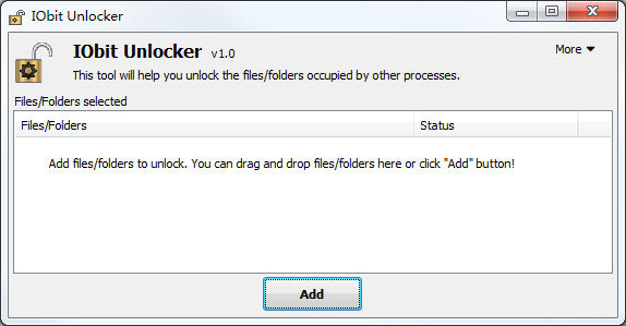Program IObit Unlocker 3