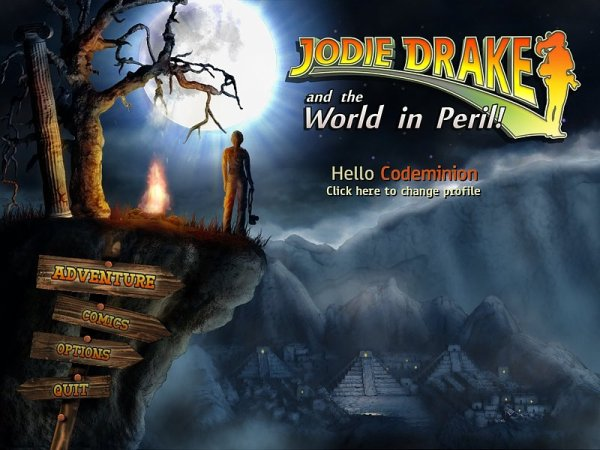 Game Jodie Drake and the World in Peril 4