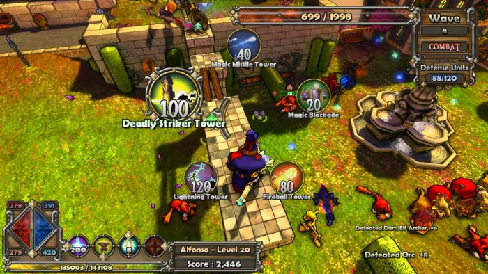 Game Dungeon Defenders 2