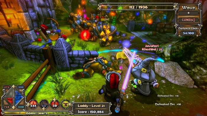 Game Dungeon Defenders 1