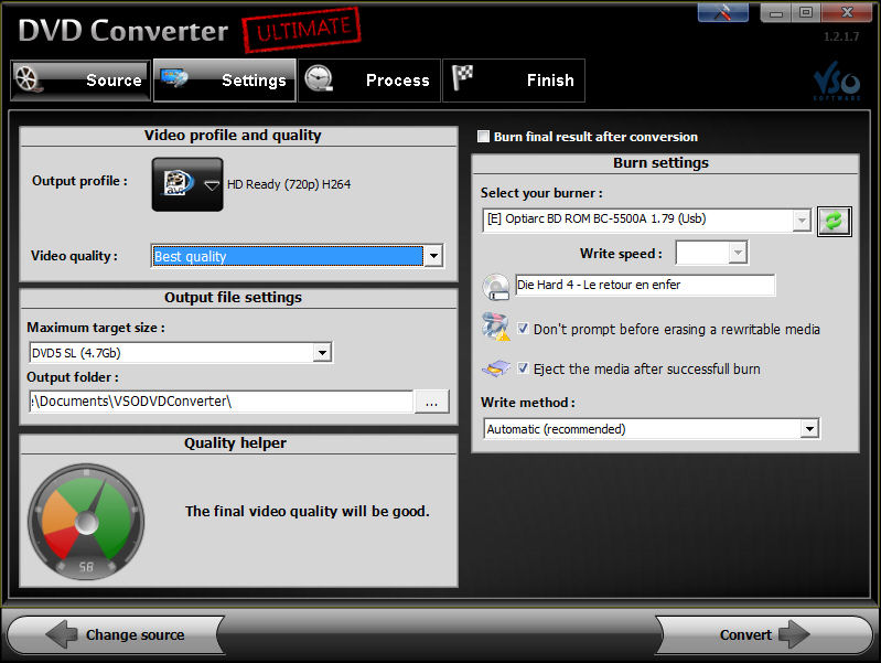 Program DVD Converter Ultimate 2