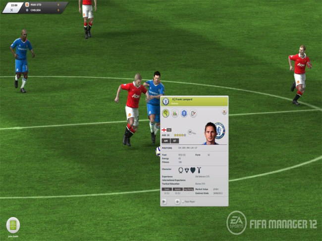 Screenshots Of FIFA Manager 12 2018