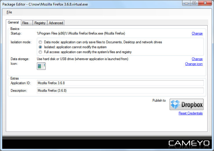 Program Cameyo Application Virtualization 2
