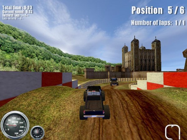 Game Ultimate Monster Trucks 3