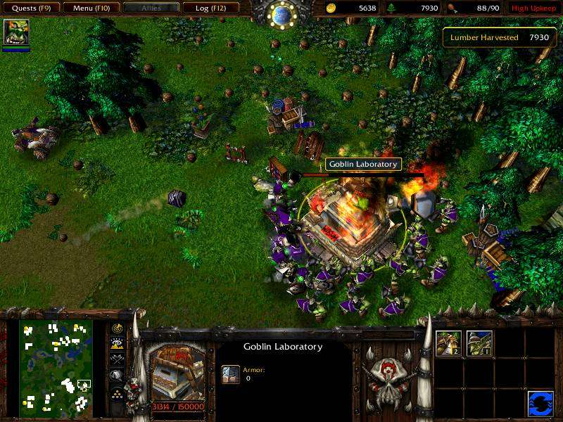 Game WarCraft III - Reign of Chaos & The Frozen Throne 4