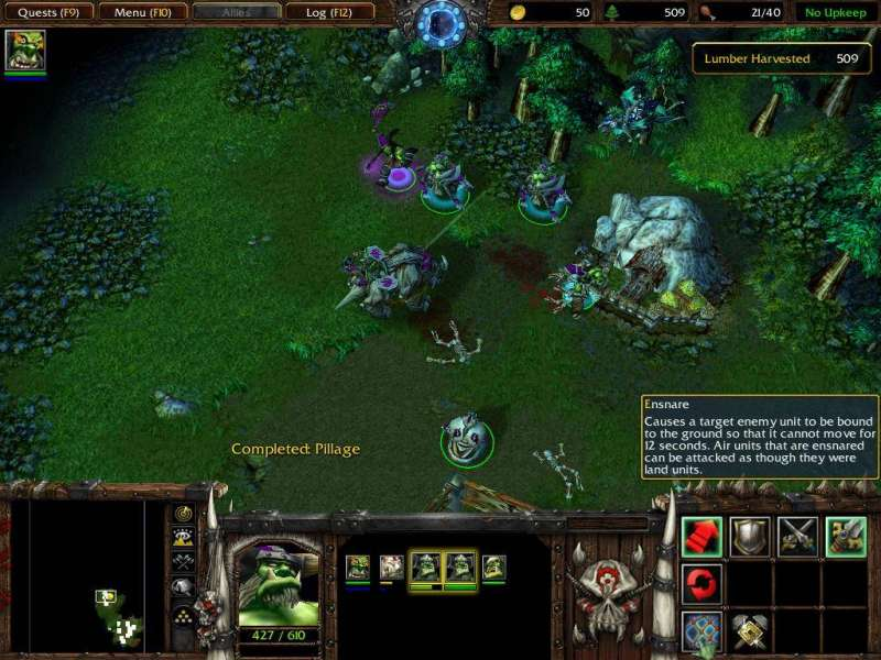 Game WarCraft III - Reign of Chaos & The Frozen Throne 2