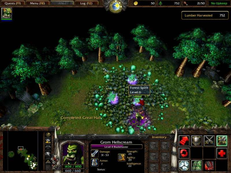 Game WarCraft III - Reign of Chaos & The Frozen Throne 1