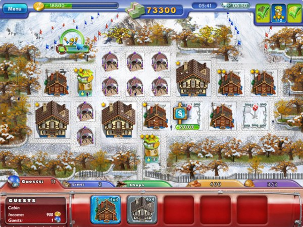 Game Ski Resort Mogul 2