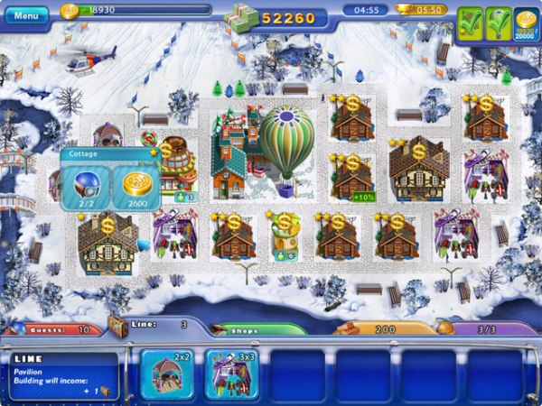 Game Ski Resort Mogul 1