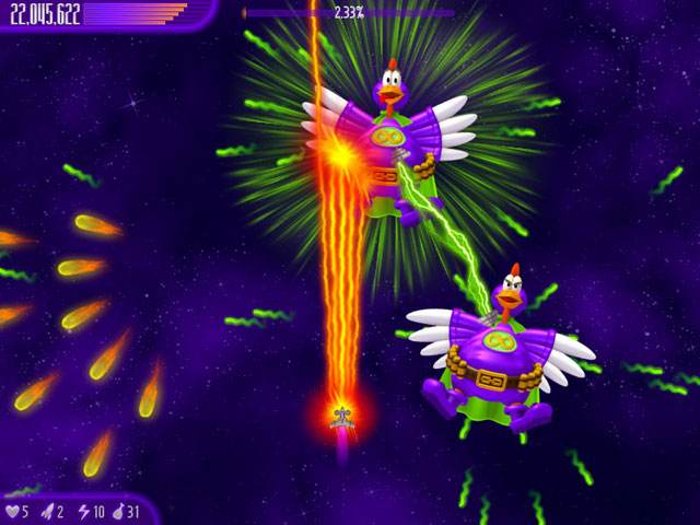 Game Chicken Invaders 4 4