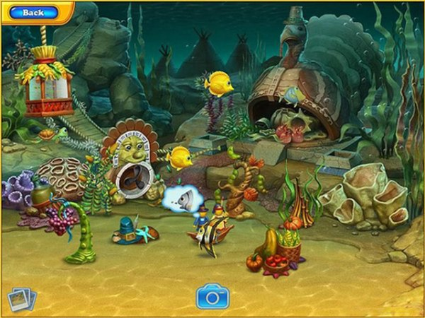 Game Fishdom: Harvest Splash 3