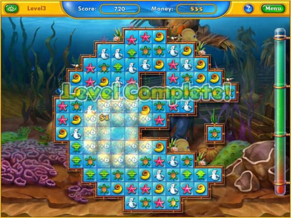 Game Fishdom: Harvest Splash 2
