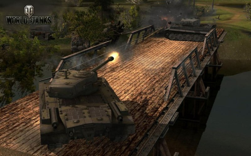 Game World Of Tanks 4