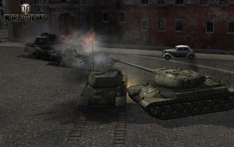 Game World Of Tanks 2