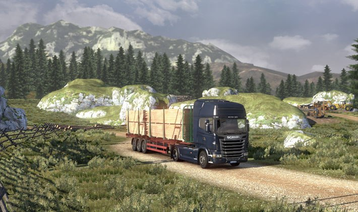 Game Scania Truck Driving Simulation 4