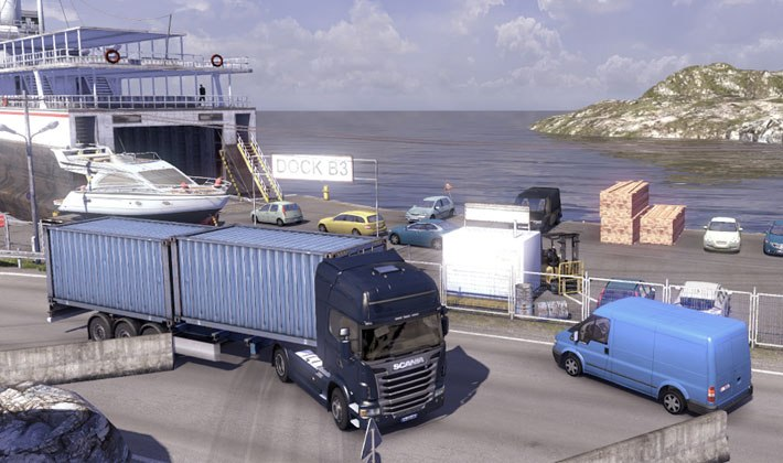 Game Scania Truck Driving Simulation 3