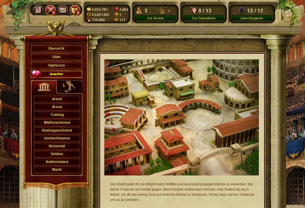 Game Gladiatus: Hero of Rome 4