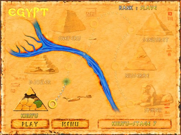 Game Brickshooter Egypt 2