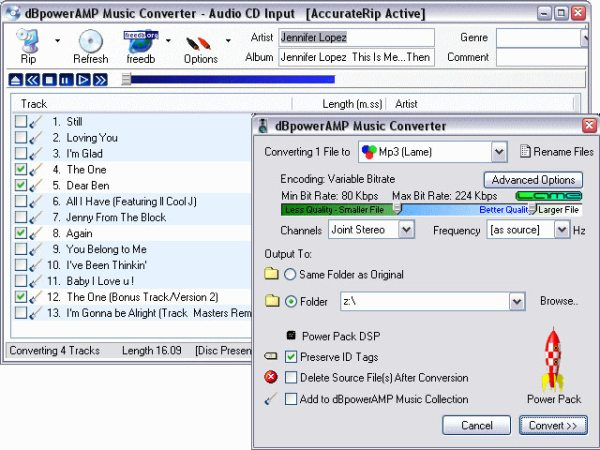 Program dBpowerAmp Music Converter 1