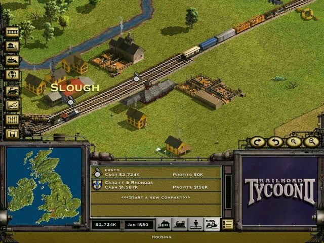 Game RailRoad Tycoon 2