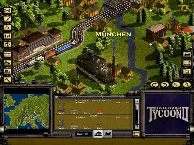 Game RailRoad Tycoon 1