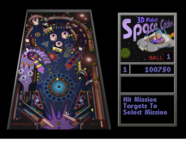 Game SpaceCadet Pinball 1