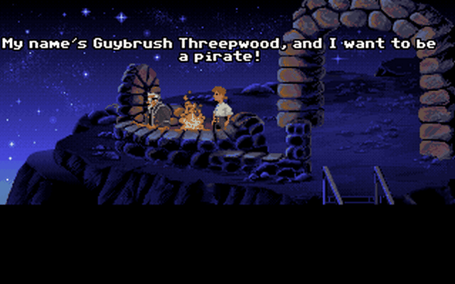 Game Monkey Island 1: The Secret of Monkey Island 3