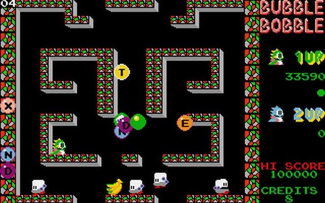 Game Bubble Bobble 1